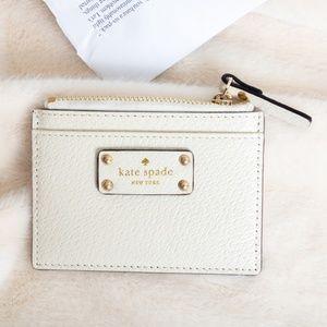 Kate Spade Grove Street Wallet Card Holder Pumice